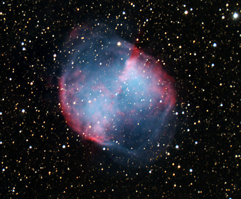 dumbbell nebula colors - photo #9